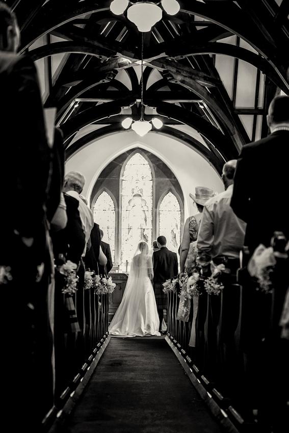 Jennifer and Ian McDonalds Wedding - Milton Farm, Abernyte, Perthshire Wedding Photographer